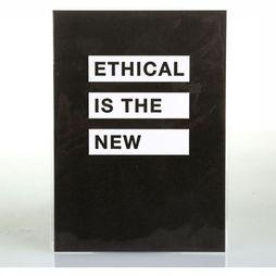 Juttu Wenskaarten Ethical Is The New Black Geen kleur