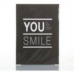 Carte De Voeux You.. Smile