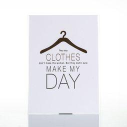 Carte De Voeux Clothes Make My Day