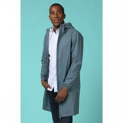 Rains Jas Base Jacket Long Petrol