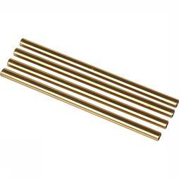 W&P Design Rietjes 12,7 cm - Set Of 4 Goud