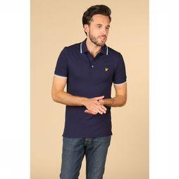 Lyle & Scott Polo 1901-Sp800Vtr Donkerblauw