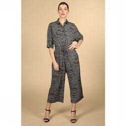 Skunkfunk Jumpsuit Alicia Gebroken Wit/Assortiment Geometrisch