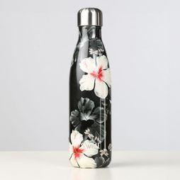 Swell Night Surf Bottle 500ml Noir/Assortiment Fleur