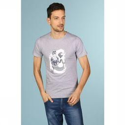 Bask in the Sun T-Shirt Neptuno Gris Clair Mélange