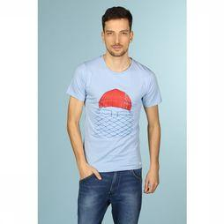 Bask in the Sun T-Shirt To The See Bleu Clair