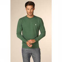 Knowledge Cotton Apparel Pull 30163 Vert Foncé