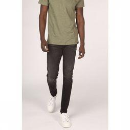 Selected Jeans slimleon Zwart