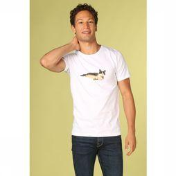 Bask in the Sun T-Shirt Catseal Wit