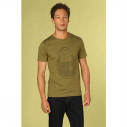 Bask in the Sun T-Shirt Smoking Pipe Middenkaki