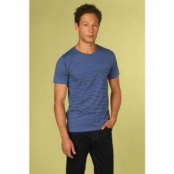 Bask in the Sun T-Shirt Swell Middenblauw