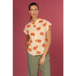 Orfeo Blouse Pancho Blanc Cassé/Orange