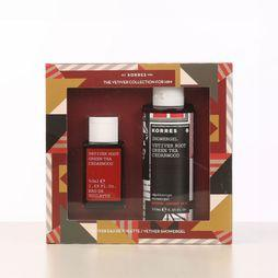 Korres Parfum Vetiver Collection For Him Gift Set Assortiment