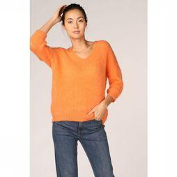 Maison Anje Pull Le Recif Orange