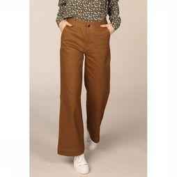 Co'Couture Pantalon Lucienne Flare Brun moyen