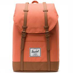 Herschel Supply Sac à Dos Retreat Orange/Chameau