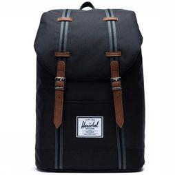 Herschel Supply Sac à Dos Retreat Noir/Assortiment
