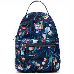 Herschel Supply Sac À Dos  Nova X-Small Bleu Moyen/Assortiment Fleur
