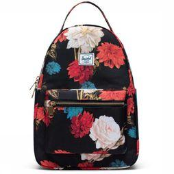 Herschel Supply Sac À Dos  Nova X-Small Noir/Assortiment Fleur