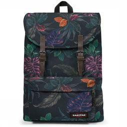Eastpak Sac à Dos London Noir/Assortiment Fleur