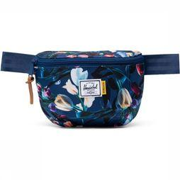 Herschel Supply Sac Banane Fourteen Bleu Moyen/Assortiment Fleur