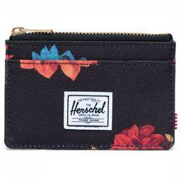 Herschel Supply Portefeuille  Oscar Noir/Assortiment Fleur