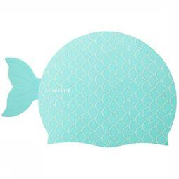 Sunnylife Speelgoed Shaped Swimming Cap 3-9 Mermaid Turkoois