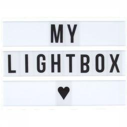 Gadget A4 Lightbox 85 Letters And Symbols