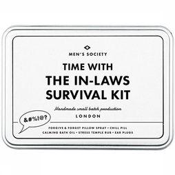 Men's Society Gadget Time Flies With The In-Laws Survival Kit Wit/Zwart