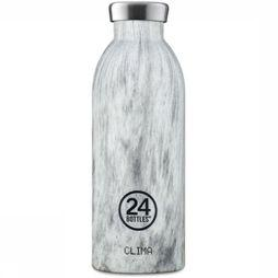 24Bottles Drinkfles Clima 500ml Wit/Zwart