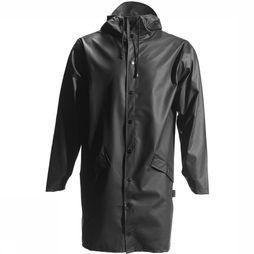 Rains Manteau Long Jacket Noir