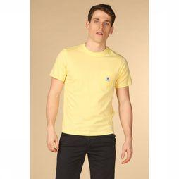 Element T-Shirt Basic Pocket Lichtgeel