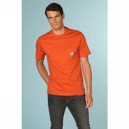 Element T-Shirt Basic Pocket Roest