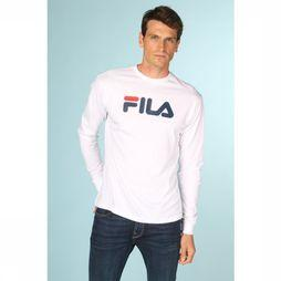 Fila T-Shirt Pure Ls Wit