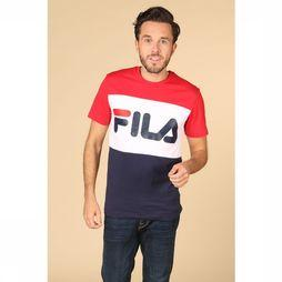 Fila T-Shirt Day Tee Middenrood/Blauw