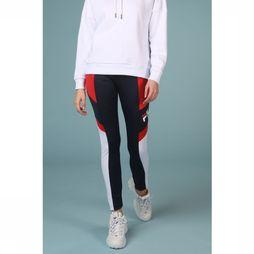 Fila Broek Martha Leggings Donkerblauw/Middenrood