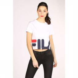 Fila T-Shirt Early Cropped Wit