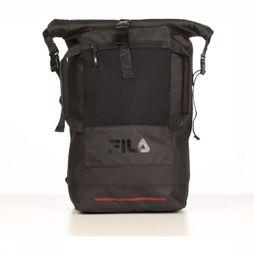Fila Sac À Dos Backpack Frosted Pu Rolltop Noir