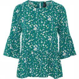 T-Shirt greenish Peplum