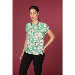 B.Young Blouse Bypanya Middengroen/Assortiment Bloem