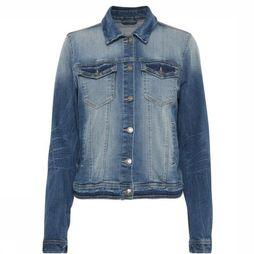 B.Young Blazer Pully Denim Middenblauw