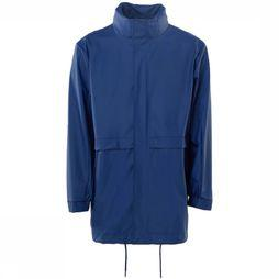 Rains Manteau Long W Bleu Moyen