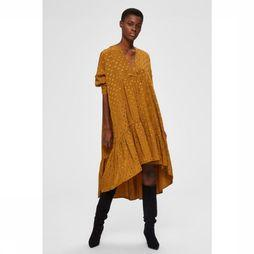 Selected Robe Maya 3/4 Rouille