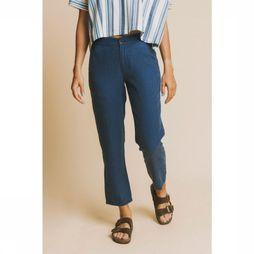 Thinking Mu Pantalon Blue Hemp Dafne Bleu Moyen