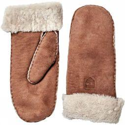 Hestra Want Hes Women Sheepskin Mit Middenbruin