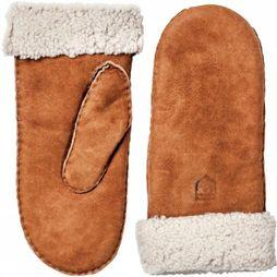 Hestra Want Hes Women Sheepskin Mit Kameelbruin