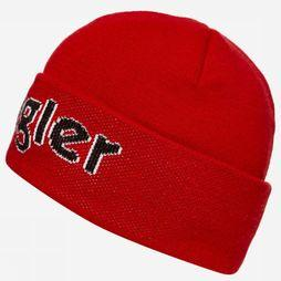 Wrangler Muts Cable Beanie Middenrood