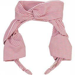 Becksöndergaard Haarband Summer Stripes Rood/Wit