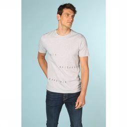 ARMEDANGELS T-Shirt Jaames Little People Gris Clair Mélange