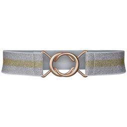 Co'Couture Ceinture Lowe Lurex Argent/Or